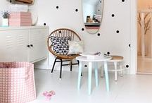 Kid's Furniture Ideas / Child's bedroom decor and DIY. Along with small, colourful and cute fixtures and fittings for finishing touches in kids bedrooms. #kidsfurnitureideas