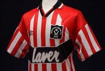 {Sport) Arnold Laver - Sheffield United Shirt Sponsors / Arnold Laver, Sheffield United Football Club Shirt Sponsors 1985–1995