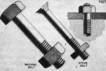 {DIY} Nuts n bolts / Types of nuts and bolts