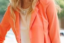 Orange Style / Orange style, fashion, clothes, ideas, summer clothes