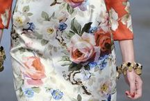 Floral Print / Floral print, clothes, style, fashion, summer, dresses, skirts, pants, ideas