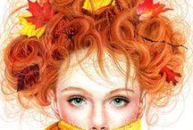 Fall Colors / Colors of Autumn, style ideas, fashion ideas, nature