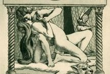 Exlibris / Bookplates - erotica / I buy, sell and exchange bookplates of good artistic quality. Interested? Please contact me at exlibrist@upcmail.nl