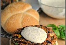 Vegan burgers/steak vegetaux