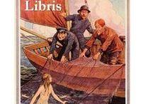 Exlibris / Bookplates - mermaids
