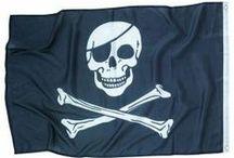 Anniversaire enfant Pirate / Tous les articles de fête et de décoration pour organiser un goûter d'anniversaire enfant sur le thème de la piraterie. Pleins d'idées géniales pour votre fête !