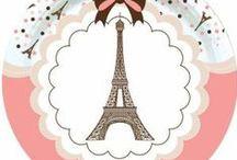 Anniversaire de fille Paris / Tout les articles de fête pour organiser un anniversaire de fille mémorable en hommage au glamour, et à la beauté de Paris
