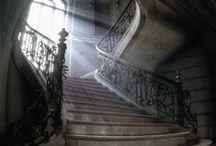 escadas (stars) / Transmite o a personalidade do dono da casa.