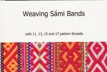 Sámi woven bands / I love Sámi weaving. Their designs are a colourful expression of a delight in the beauty of even the smallest things.  Their woven bands are beautiful.