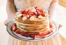 MWF Inspiration | Pancake wedding cakes / Alternative wedding cake ideas.