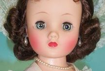 "157 Madame Alexander Dolls / Madame Alexander, Alexanderkins, & Cissy. ALSO see board: 18"" Mme Alex"