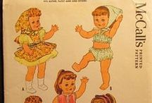 125 MISC Doll Clothes PATTERNS / Misc doll clothes, hats, accessories patterns.