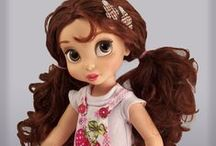 116 Disney Dolls / Disnry Animator, Toddler, Princess & Me, Barbie-style, etc dolls. Patterns, clothes, accessories, etc.