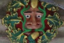 The Green Man / images of the Green Man