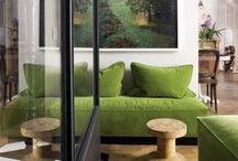 COLOR OF THE YEAR- GREENERY / Pantone's Color of the Year, Greenery as shown in interiors and everyday life