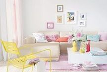 SPRING REFRESH / Add some vibrant color to your space to transform it for Spring