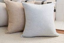 OUR PILLOWS / Woven in the same blend as our best-selling Italian Herringbone throws, these soft,  Herringbone pillows add a stylish accent to your living space and are perfect for mixing and matching.