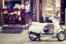 Scoot.  / Vespas that I love! / by Amanda Asel