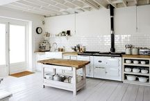 Kitchen inspiration / I love eating and making good food. If possible in a nice kitchen. This is where I get my inspiration from.
