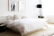Bedroom inspiration / This is where I dream! Awake or asleep...these bedrooms are to die for.