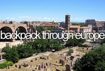 Backpack Through Europe Trip / Plans for our trip to Europe after graduation!!! / by Anna Johnson