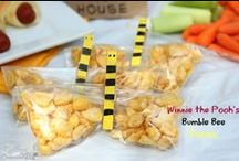 Winnie the Pooh Party Ideas / Winnie the Pooh Party ideas for a Winnie the Pooh Party based on the Disney movie. Healthy party ideas for snacks and theme suggestions.