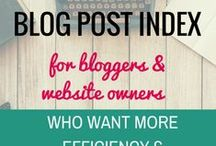 Writing and Blogging / Blogging tips, social media tips, writing and freelance writing information and tips.