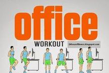 for desk jockeys... / exercises from your desk, chair, cubby... / by quince and vine