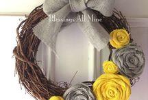 Wreaths / by Melissa Kepley