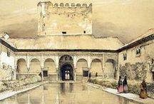 Granada / watercolor Granada