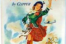 Koalas And Kilts / Vintage Australian and Scottish travel posters. / by Violet Crumble