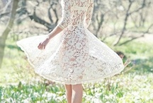 Heavenly dresses and lovely things