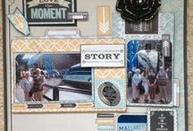 Scrapbook Layouts by Me / Some of my favourite Layouts