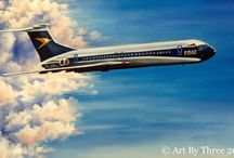 The Art of Cars & Planes / Paintings of forms of transport