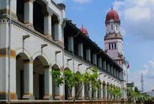 Semarang, Central Java / Semarang is blessed with its beautiful old buildings and mixing of Chinese and Javanese Culture and Dutch heritage.