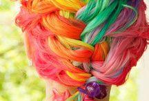 Hairs a Rainbow ;0) / Multi coloured hair dos ;0)
