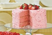 Recipes to Try-Cakes and Cupcakes