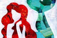 The Little Mermaid / Inspirações/Ilustrações/Decoração para festas...