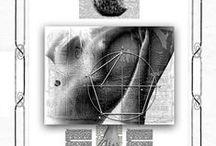 Tarot Poético /  Liber E dV um tarot para a deusa éris. Art project av Manuel Almeida ESousa um comboio na nudez dos carris