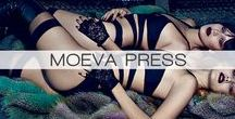 MOEVA PRESS / MOEVA LONDON products worn by celebs & bloggers, published on many well-known magazines & blogs
