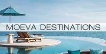 MOEVA DESTINATIONS / MOEVA Vacation Edition Summer 2015 will present to you the best holiday spots to go to, throughout the whole summer season and give editional recommendations, maybe a book or a speacial cocktail?