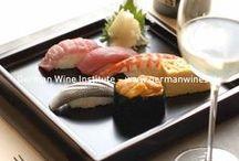 Asiatische Küche und deutscher Wein / Asian cuisine and german wine