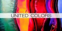 UNITED COLOURS / Colour blocks, colour combinations and coloured expressions