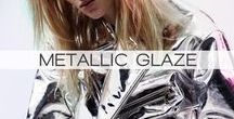 METALLIC GLAZE / What is metal? It is a matter, a scientific tool. Yet somehow we managed to adopt it onto/into the things we actually wear. Regardless of the comfort level provided with metallic clothing, people still seems to use it, and not only to accessorize but also on a daily basis. Metallic trend also seems to be coming up again in fashion and we will be seeing a lot of metallic action in the future as well, and not only in fashion but also in our everyday lives.