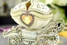 Trinket Boxes , Jewerly Boxes,& Decorative Boxes / Some small and very beautiful boxes / by Paulette Weldon