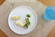 """Montessori in the Home / Inspiration and ideas for """"Montessorifying"""" your home."""