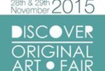 Discover Original Art / A vivacious group of working artists and makers, exploring a wide variety of techniques, sharing a commitment to producing and exhibiting high quality art.