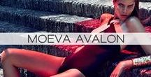 MOEVA AVALON CAMPAIGN / Upon the reflection of one-self through the mirror and through the surface of the water, with the light.  Moeva presents the new collection inspired from the misguided light hitting the surface of the water, refracting; unraveling the mysterious of a land far far away, where one queen rules them all...