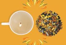 Festive Tea Hamper / Gift love and light.  Marigold is a symbol of festive joy. Celebrate this spirit with our Marigold Tea and Cup Candle Gift Hamper. Marigold Green Tea aids digestion and is a handy tea for all the indulgent meals during festivities. Made with love by our friends at Hellen Keller Institute for the Deaf and Deafblind. This unique candle makes for a great table setting to welcome your guests at teatime, this festive season.