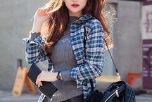 Korean Fashion and Street Style / Your daily dose of cute Korean fashion. Cute Korean style, Elegant Korean style, Sexy Korean style and more! Style from KPOP idol, Korean artists and Korean celebrities.